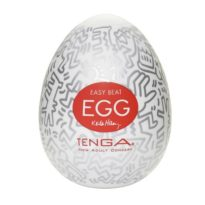 Мастурбатор Keith Haring Egg – Party (Tenga)